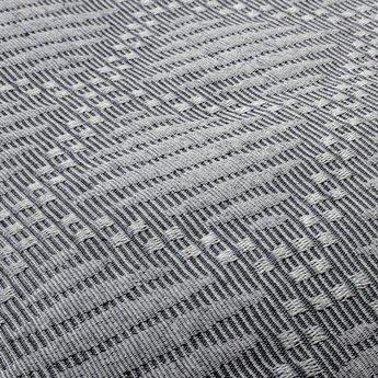Fancy Embroidery bedsprei Ritmo B Grey