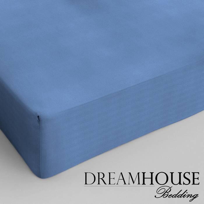 Dreamhouse bedding hoeslaken katoen BLAUW