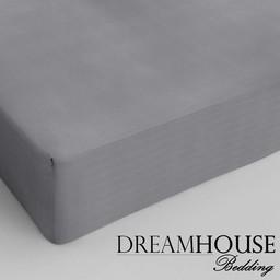 Dreamhouse bedding hoeslaken katoen GRIJS