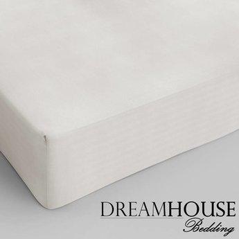 Dreamhouse bedding hoeslaken katoen CREME