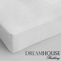 Dreamhouse bedding hoeslaken katoen WIT