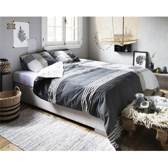 Dreamhouse bedding Bruce antraciet dekbedovertrek