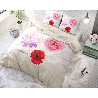 Sleeptime Summer Flower Multi dekbedovertrek