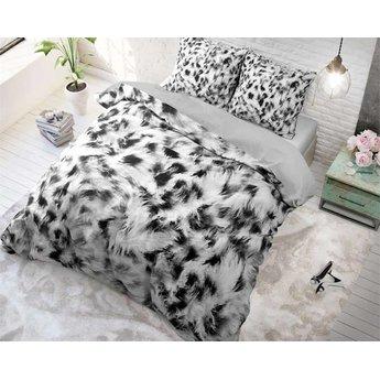 Sleeptime Cheetah Skin Grijs dekbedovertrek