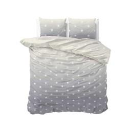 Sleeptime Twinkle Stars Grey dekbedovertrek