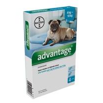 Advantage Advantage 100 Hond 4kg-10kg| tegen vlooien