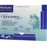 Effipro Kat Effipro Spot-on Kat - tegen vlooien en teken - 4 pipetten