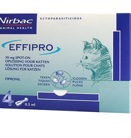 Effipro Kat Effipro Spot-on - 4 pipetten