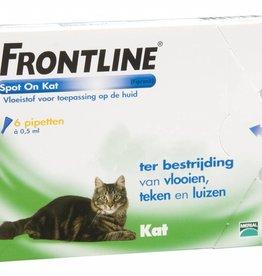 Frontline kat Frontline Spot On - 6 pipetten