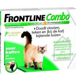Frontline kat Frontline Combo - 6 pipetten