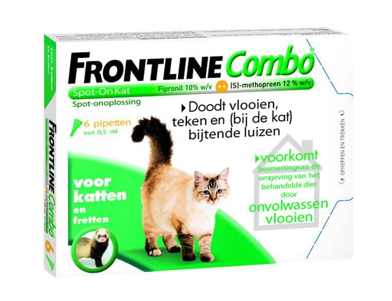 Frontline kat Frontline Combo Spot-on Kat - 6 pipetten