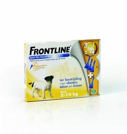 Frontline Spot On S Hond 2kg-10kg 4 pipetten