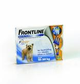 Frontline Frontline Spot On M Hond 10kg-20kg | tegen vlooien en teken - 4 pipetten