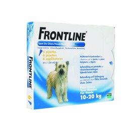 Frontline Spot On M Hond 10kg-20kg 6 pipetten