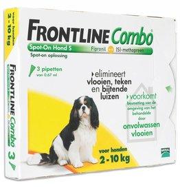 Frontline Combo S Hond 2kg-10kg 3 pipetten