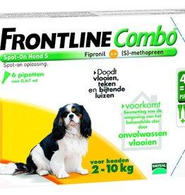 Frontline Combo S Hond 2kg-10kg 6 pipetten