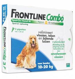 Frontline Combo M Hond 10kg-20kg 3 pipetten
