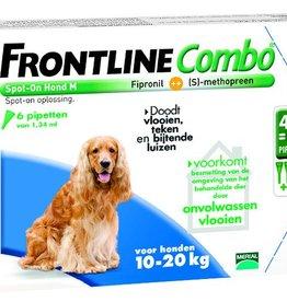 Frontline Combo M Hond 10kg-20kg 6 pipetten