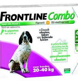 Frontline Combo L Hond 20kg-40kg 6 pipetten