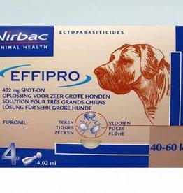 Effipro Spot On XL Hond 40kg-60kg 4 pipetten