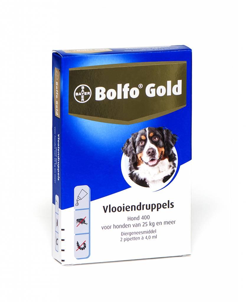 Bolfo Gold Bolfo Gold 400 Hond 25kg-40kg | tegen vlooien - 2 pipetten