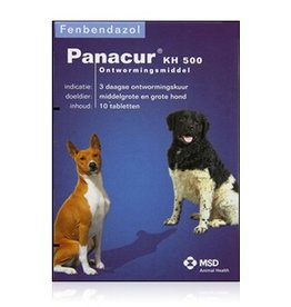 Panacur Panacur KH 500 mg hond 10 tabletten