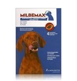Milbemax Milbemax smakelijke ontwormingstabletten - 4 tabletten - voor honden van 5 tot 75kg