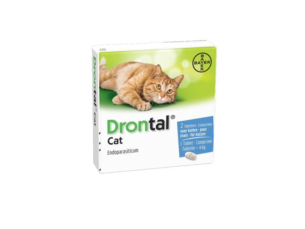 Drontal Drontal Cat ontwormingstabletten 2x - tegen lint- en rondwormen bij katten vanaf 2kg