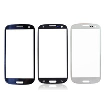 Samsung Galaxy S3 i9300 Frontglas AAA+ Kwaliteit - Blauw/Zwart/Wit
