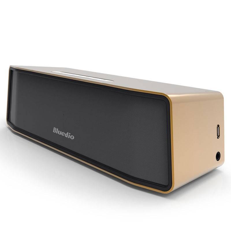 Camel Original Bluedio BS-2 Bluetooth Wireless Speaker Wireless Bluetooth Speaker Box 4.1 Gold