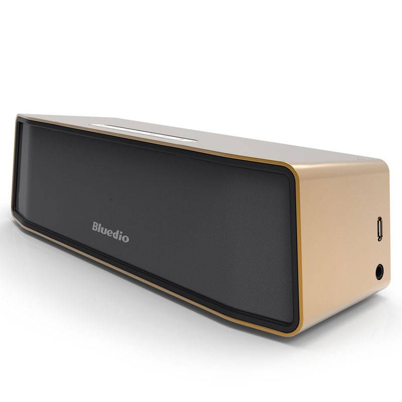 Originele Bluedio Camel BS-2 Bluetooth Wireless Draadloze Speaker Luidspreker Box Bluetooth 4.1 Goud