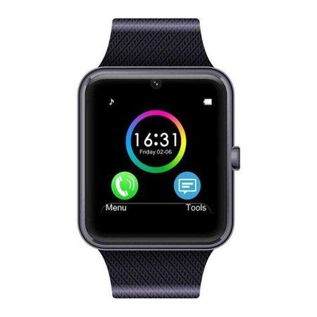 Stuff Certified Originele GT08 Smartwatch Smartphone Horloge Android Zwart