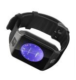 Stuff Certified Originele DZ09 Smartwatch Smartphone Horloge Android Zwart