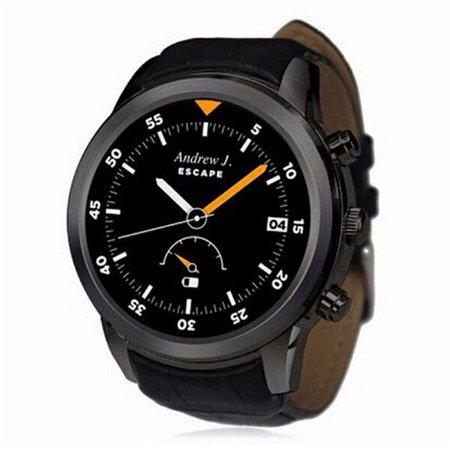 Stuff Certified Originele K18 Plus Smartwatch Smartphone Horloge Android Zwart
