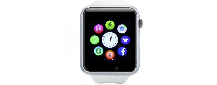 Stuff Certified Originele A1/W8 Smartwatch Smartphone Horloge Android Wit