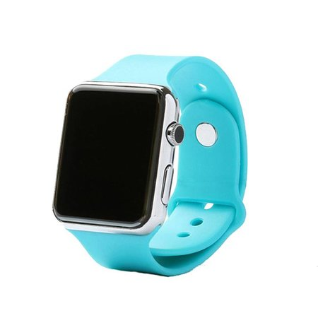 Stuff Certified Originele A1/W8 Smartwatch Smartphone Horloge Android Blauw