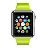 Stuff Certified Originele A1/W8 Smartwatch Smartphone Horloge Android Groen