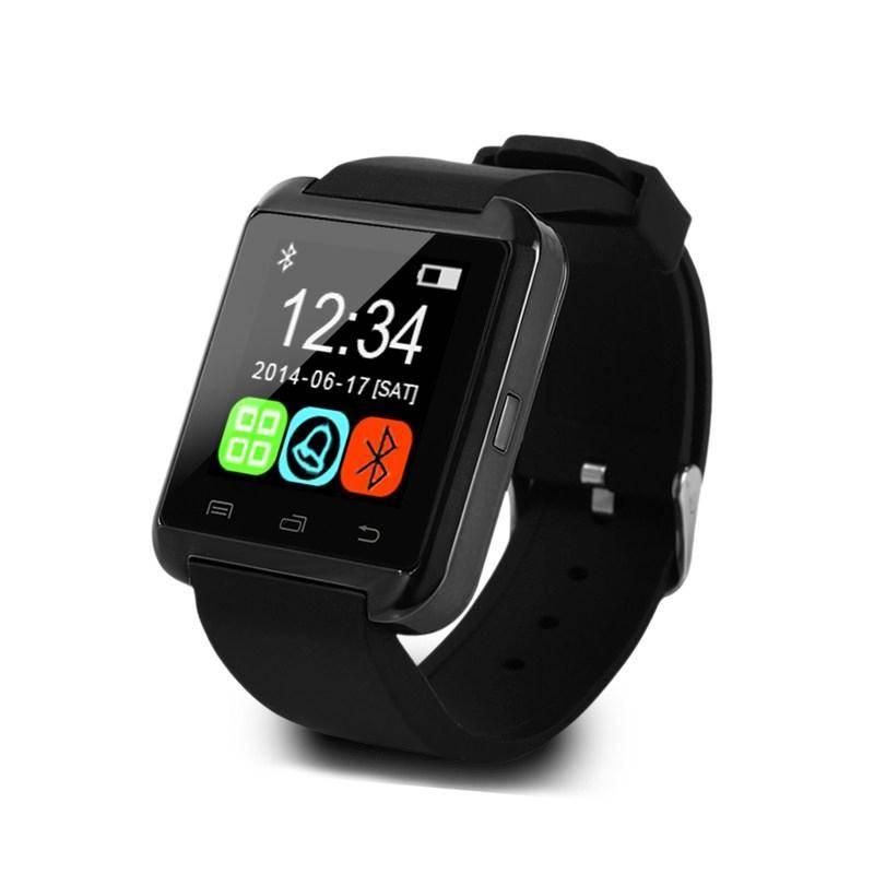 Originele U80 Smartwatch Smartphone Horloge Android Zwart