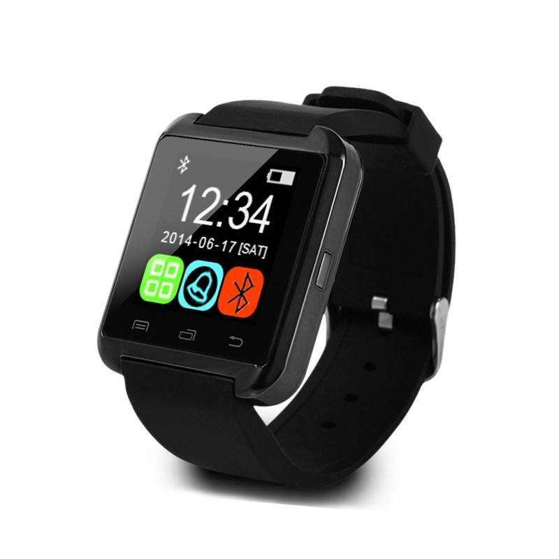 Originele U80 Smartwatch Smartphone Horloge OLED Android Zwart