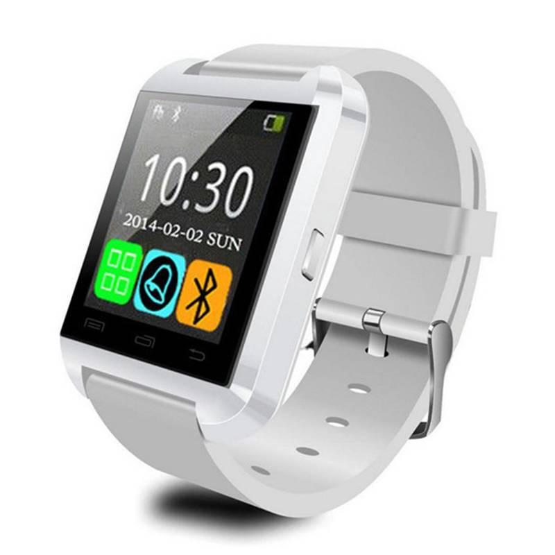 Originele U80 Smartwatch Smartphone Horloge OLED Android Wit