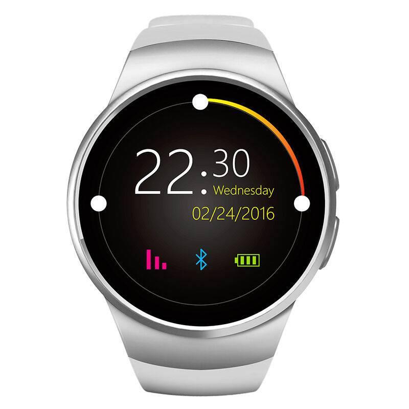 Originele KW18 Smartwatch Smartphone Horloge Android iOS Zilver