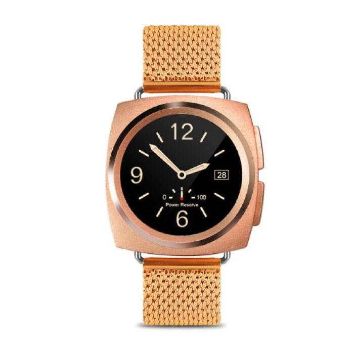 Originele A11 Smartwatch Smartphone Horloge Android iOS Goud Metaal
