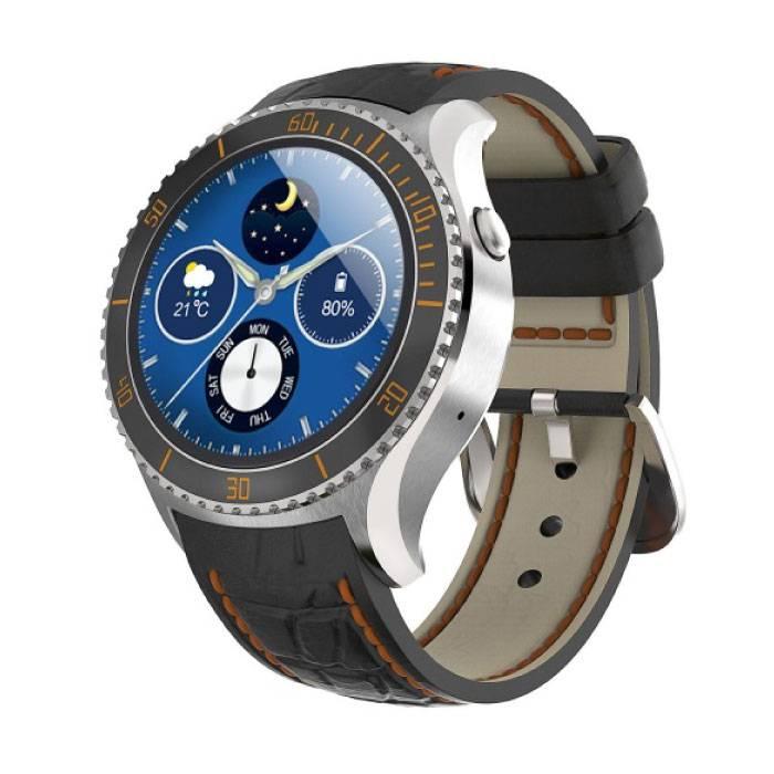 Originele I2 Smartwatch Smartphone Horloge Android iOS Zilver