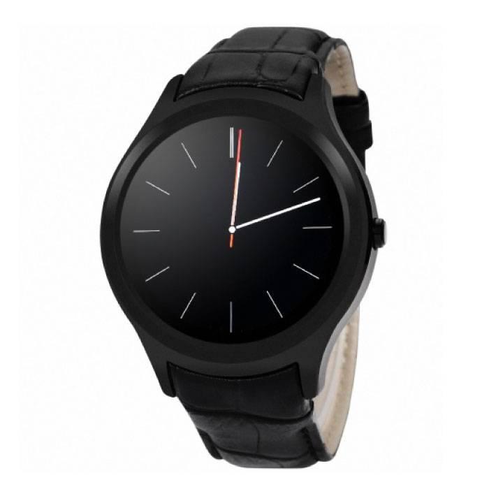 Originele D5 Smartwatch Smartphone Horloge OLED Android Zwart