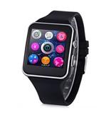 Stuff Certified Originele X6S Smartwatch Smartphone Horloge Android iOS Zwart