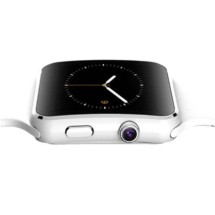 Stuff Certified Originele X6S Smartwatch Smartphone Horloge Android iOS Wit