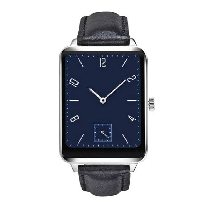 Originele A58 Smartwatch Smartphone Horloge OLED Android iOS Zilver