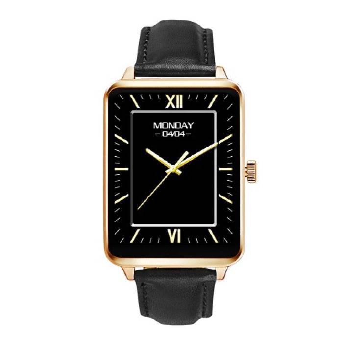 Originele A58 Smartwatch Smartphone Horloge Android iOS Goud