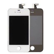 iPhone 4 Scherm (Touchscreen + LCD) AA+ Kwaliteit - Zwart/Wit