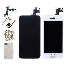 iPhone 5S Voorgemonteerd Scherm (Touchscreen + LCD) AA+ Kwaliteit - Zwart/Wit